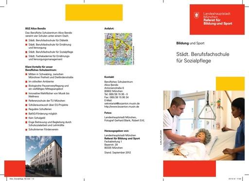 BFS für Sozialpflege - flyer